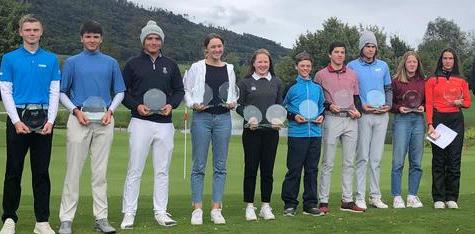 U16 Junior Tour - Sieg für Alexander Brand, 3. Rang für Tina Honnef