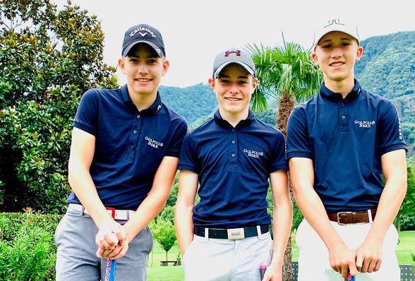 Swiss Golf National U14 Event in Losone
