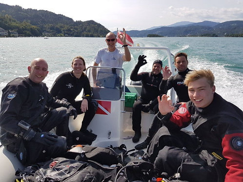 Boat Dive Wörthersee