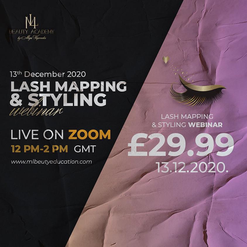 Lash Mapping & Styling Webinar
