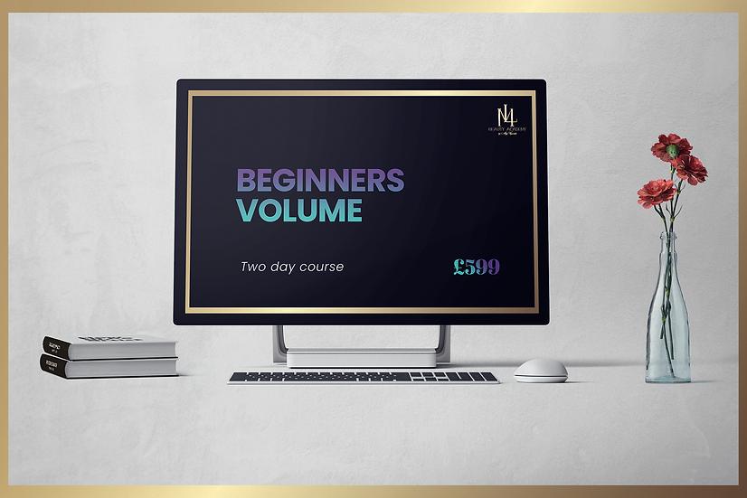 Beginners Volume Eyelash Course
