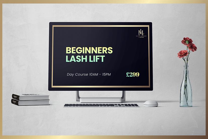 Beginners Lash Lift