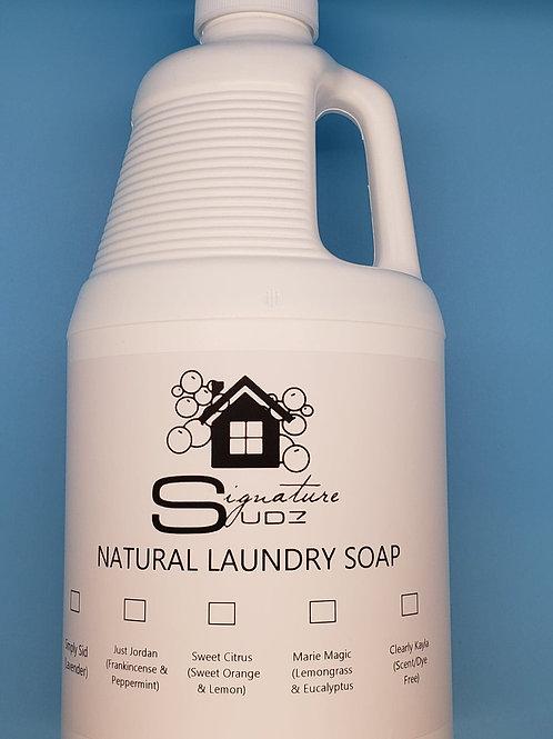 Natural Laundry Soap (1 Gallon)