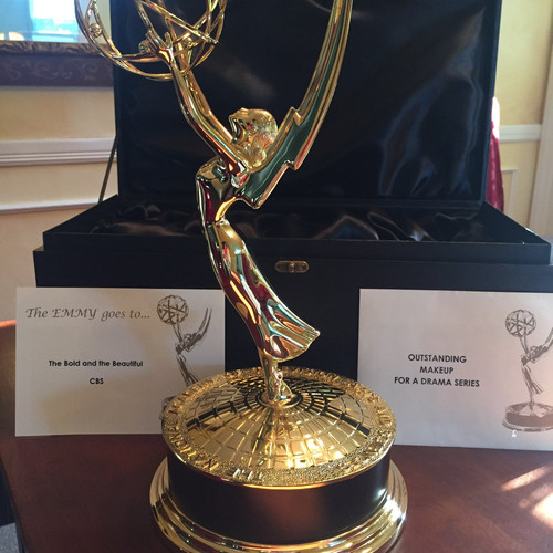 2017-2018-Daytime Emmy Statue, Best Makeup, The Bold & The Beautiful