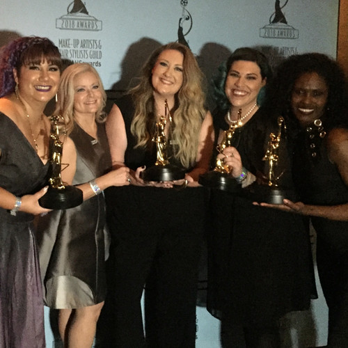 2018-Makeup Artists and Hair Stylist Guild Awards