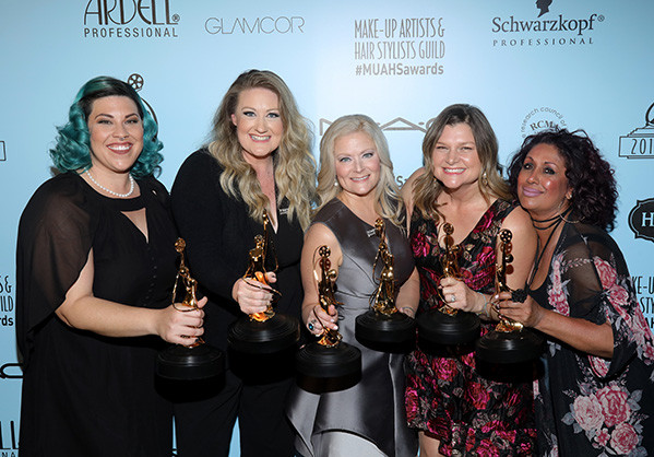 2018-Makeup Artists and Hair Stylist Guild Awards-Double Winner Mamma Mia!-Best Theatrical Hair/Best Theatrical Makeup