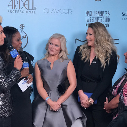 2018-Makeup Artists and Hair Stylist Guild Awards-Red Carpet