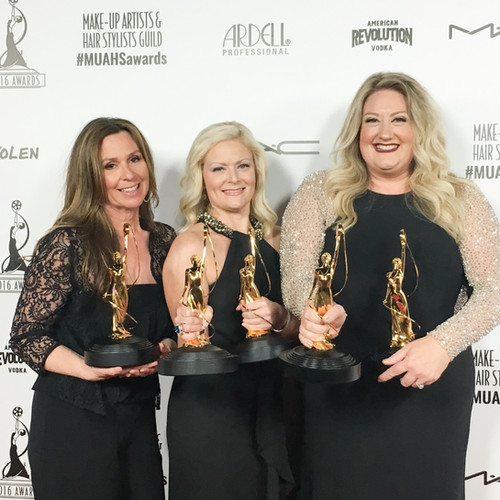 2016-Makeup Artists and Hair Stylist Guild Awards-Double Winner Alice in Wonderland-Best Theatrical Hair/Best Theatrical Makeup