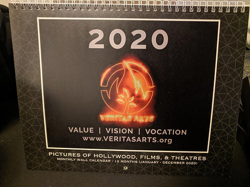 Veritas Arts 2020 Calendar