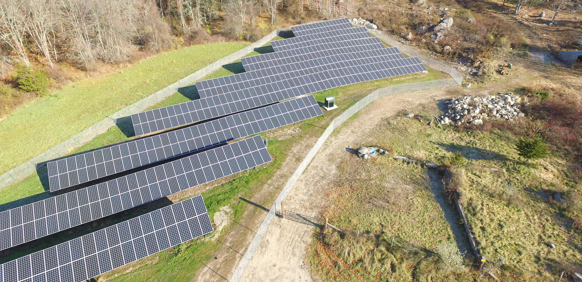 Solar Field in Shannock Village