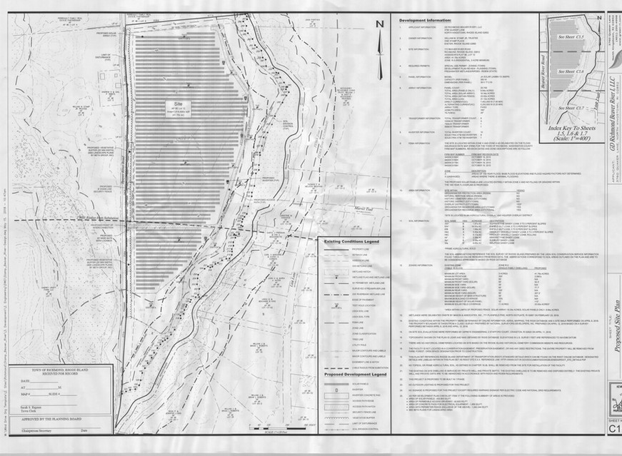 Proposed Beaver River Rd. Solar Drawing