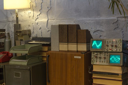 Two oscilloscopes