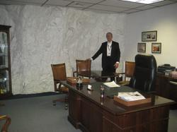 An office at Iron Mountain Storage