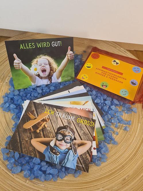 Affirmationskarten für starke Kinder & Teenager - Erweiterungsset Orange