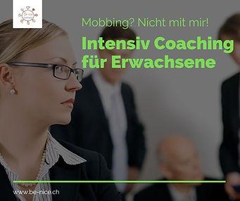 Erwachsenen coaching gegen mobbing