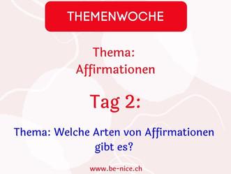 Themawoche: Affirmation Tag 2
