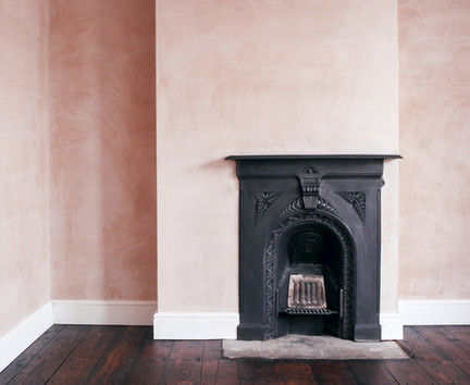 Fisher Cheng Architects - Southcott House Bedroom Fireplace-2.jpg