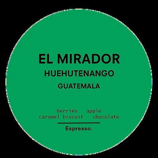 El Mirador | Espresso