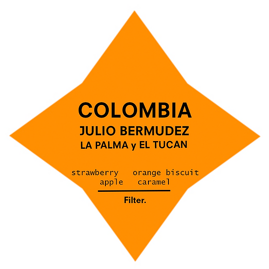 Colombia. Julio Bermudez - La Palma y El Tucan