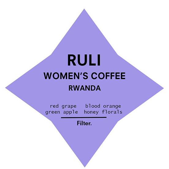 Ruli Women's Coffee   Rwanda