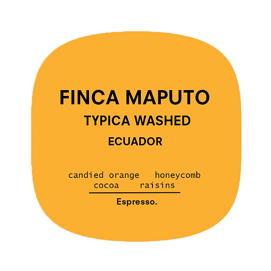Finca Maputo | Espresso