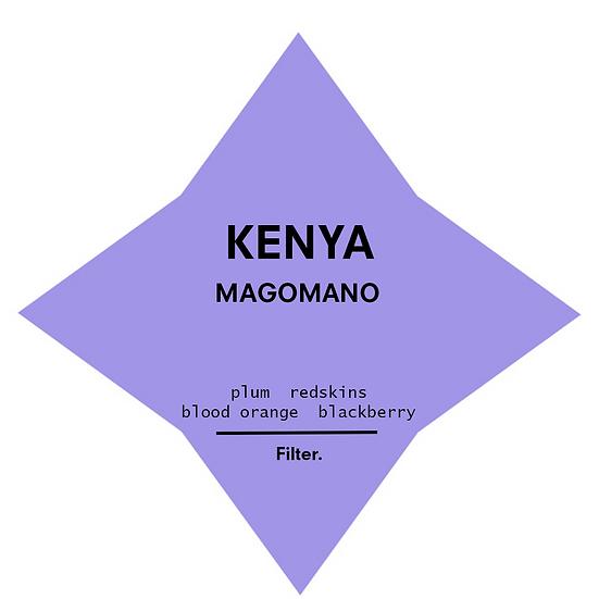 Kenya. Magomano