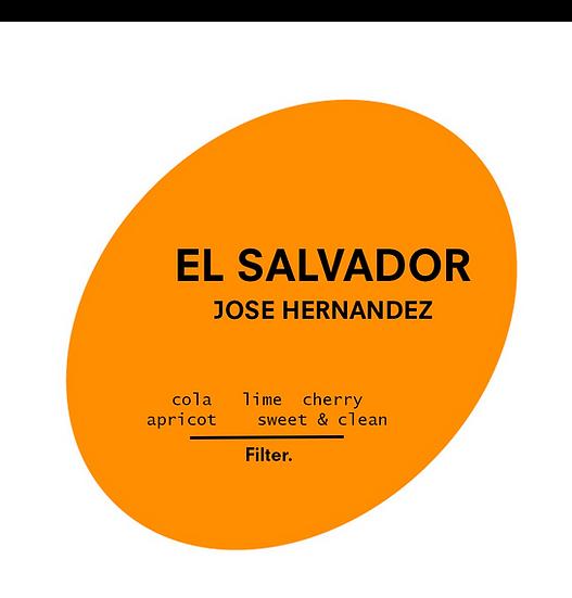 El Salvador. Jose Matias Hernandez