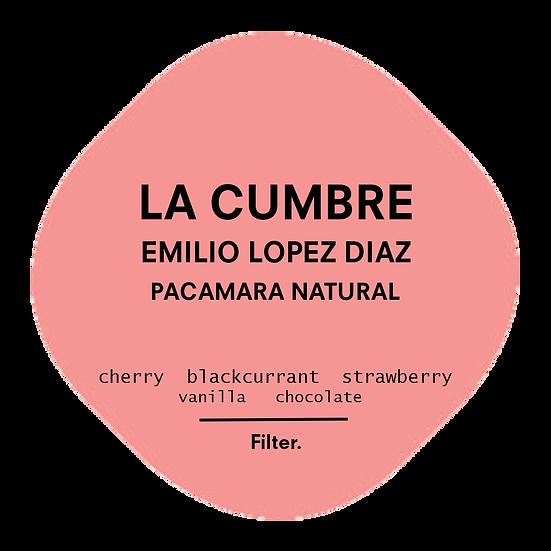 Emilio Lopez Diaz | Natural Pacamara | El Salvador
