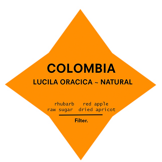 Colombia. Lucila Oracica~ Natural