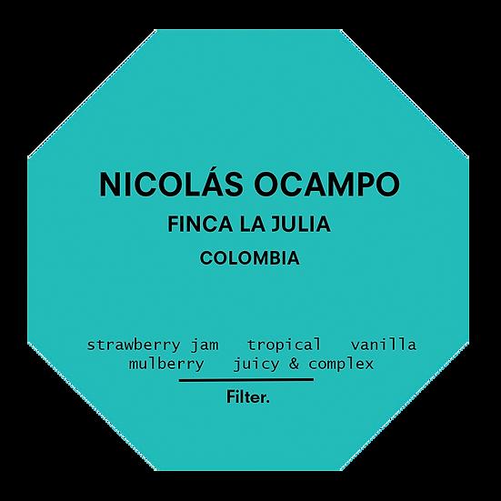 Nicolás Ocampo - Finca La Julia. Colombia