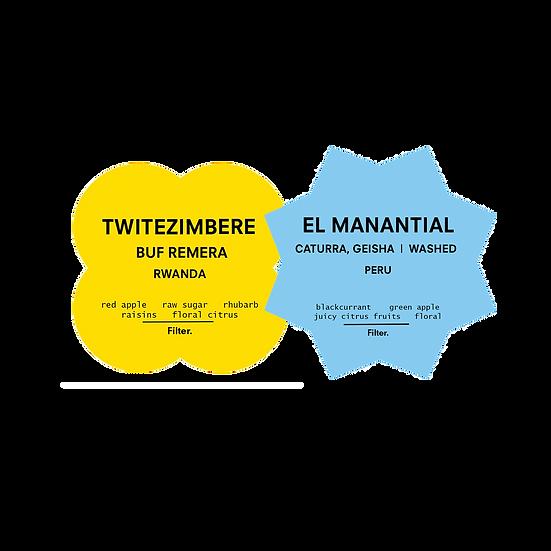 Mix Filter Pack | Twitezimbere & El Manantial