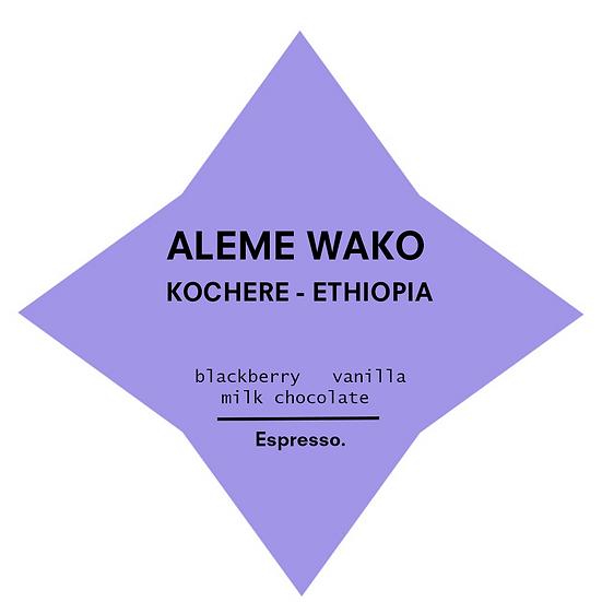 Aleme Wako | Espresso
