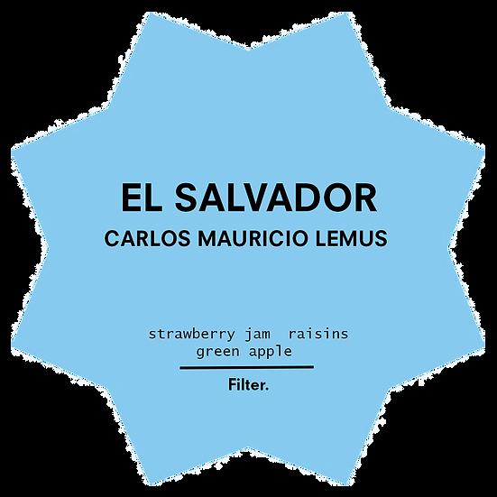 El Salvador. Carlos Mauricio Lemus