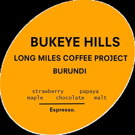 Bukeye Hills Natural - LMCP   Burundi   Espresso