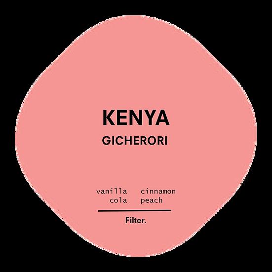 Kenya. Gicherori
