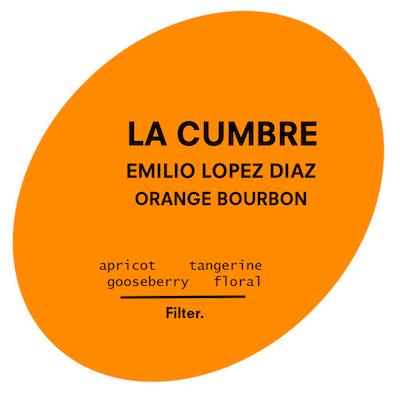 La Cumbre | Orange Bourbon Natural | El Salvador