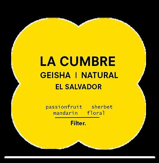 La Cumbre | Geisha Natural | El Salvador