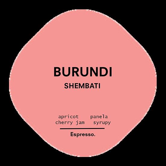 Burundi. Shembati