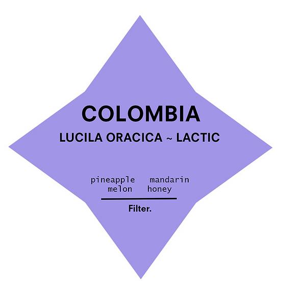Colombia. Lucila Oracica ~ Lactic
