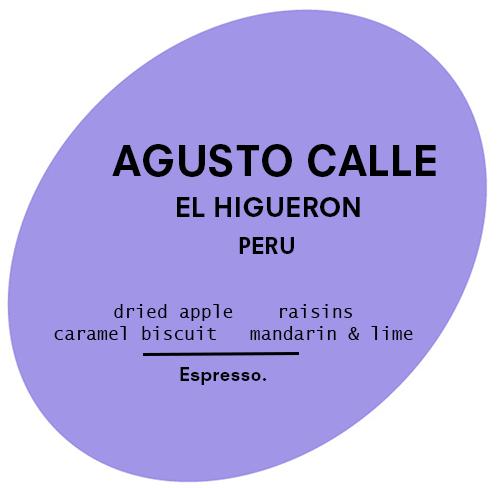Agusto Calle | Peru | Espresso