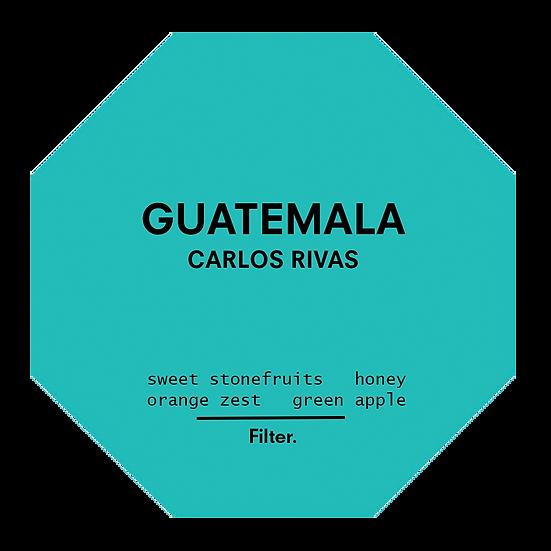 Guatemala. Carlos Rivas