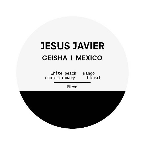 Jesus Javier   Mexico   Natural Geisha