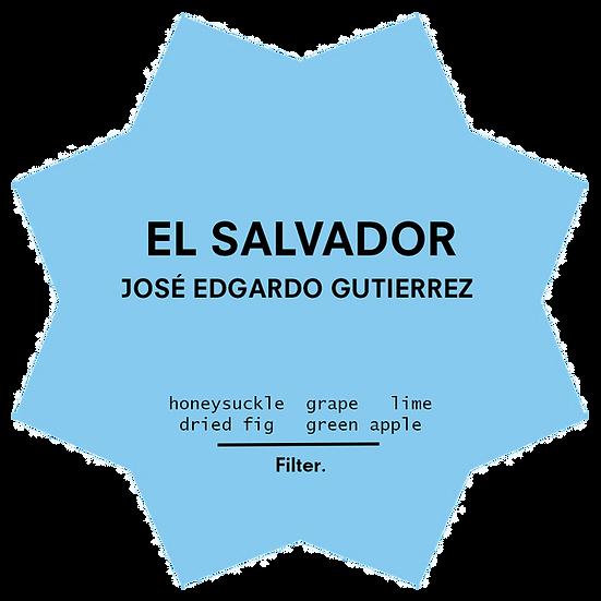 El Salvador. José Edgardo Gutierrez