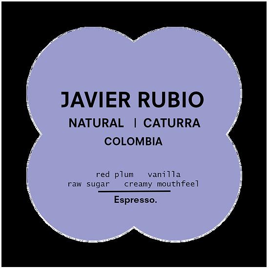 Javier Rubio | Natural Caturra | Espresso