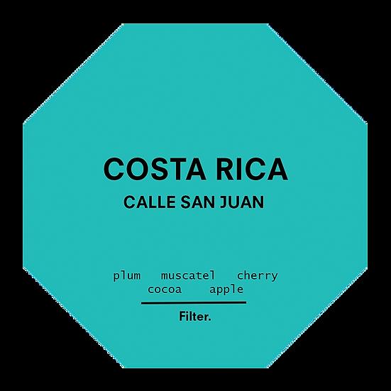 Costa Rica. Calle San Juan