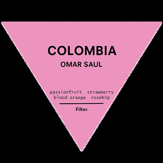 Colombia. Omar Saul - Pink Bourbon