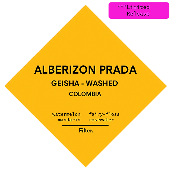 Colombia. Alberizon Prada - Washed Geisha
