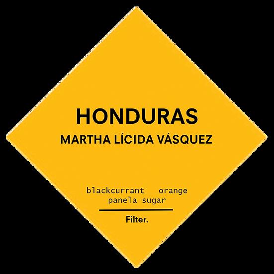 Honduras. Martha Lícida Vásquez