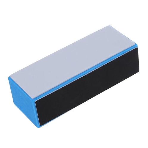 3 Way Light Blue Nail Buffer