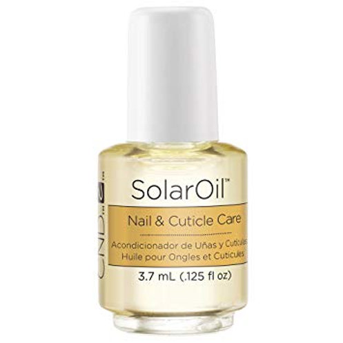 CND Travel Sized Solar Oil Cuticle Conditioner, 0.12 Fl Oz